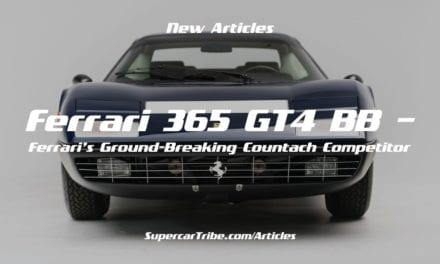 Ferrari 365 GT4 BB – Ferrari's Ground-Breaking Countach Competitor