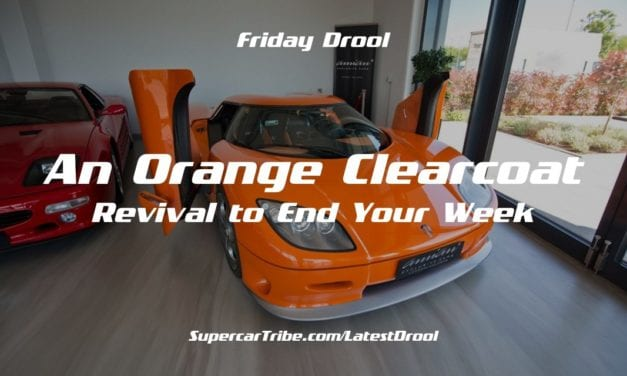 Friday Drool – An Orange Clearcoat Revival to End Your Week
