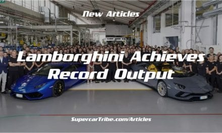 Lamborghini Achieves Record Output