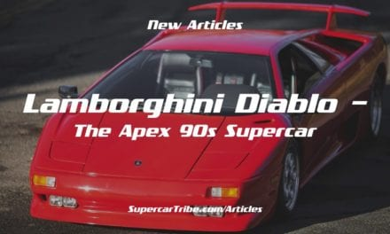 Lamborghini Diablo – The Apex 90s Supercar