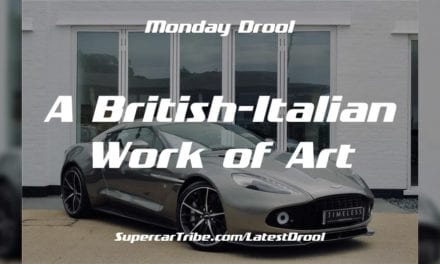 Monday Drool – A British-Italian Work of Art