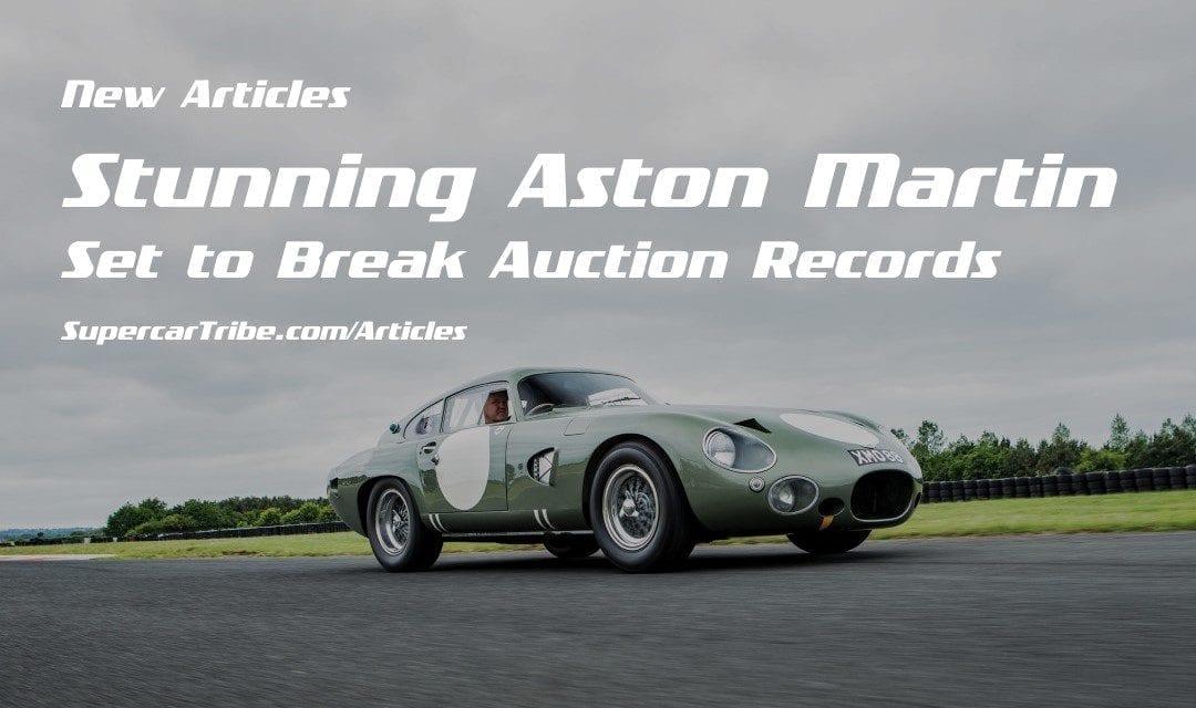 Stunning Aston Martin Set to Break Auction Records