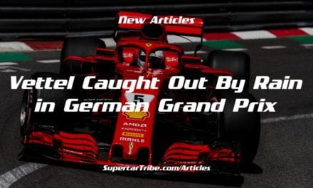 Vettel Caught Out By Rain in German Grand Prix