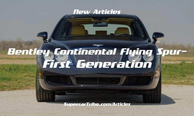 Bentley Continental Flying Spur – First Generation