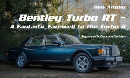 Bentley Turbo RT – A Fantastic Farewell to the Turbo R