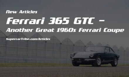 Ferrari 365 GTC– Another Great 1960s Ferrari Coupe