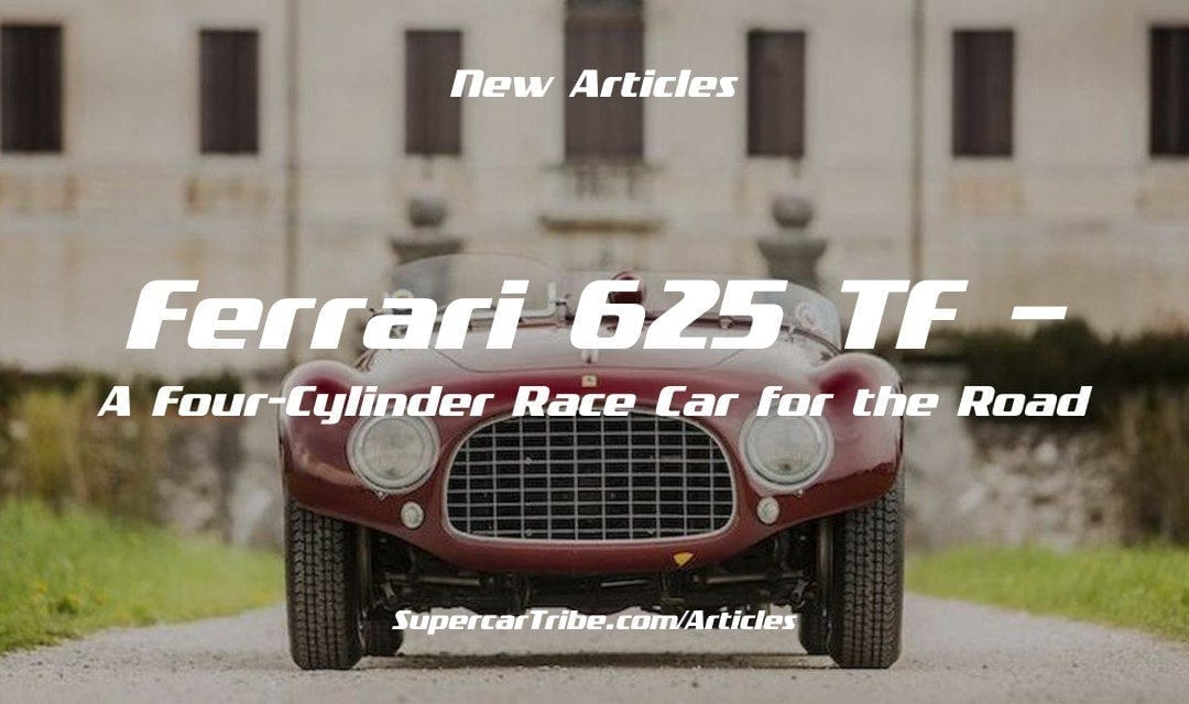 Ferrari 625 TF – A Four-Cylinder Race Car for the Road