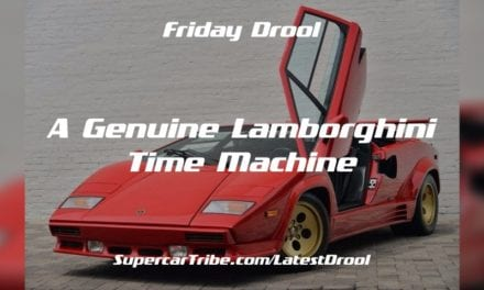 Friday Drool – A Genuine Lamborghini Time Machine