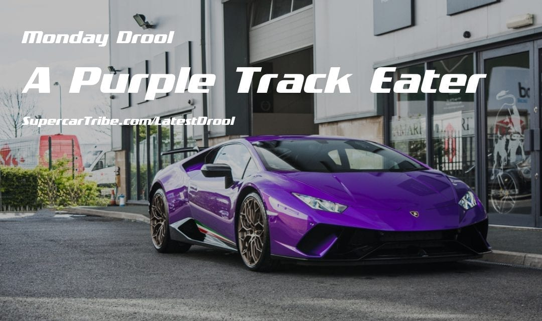 Monday Drool – A Purple Track Eater