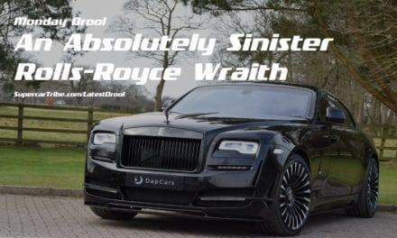 Monday Drool – An Absolutely Sinister Rolls-Royce Wraith