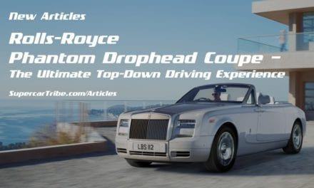 Rolls-Royce Phantom Drophead Coupe – The Ultimate Top-Down Driving Experience