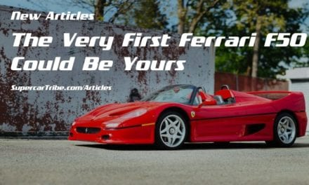 The Very First Ferrari F50 Could Be Yours