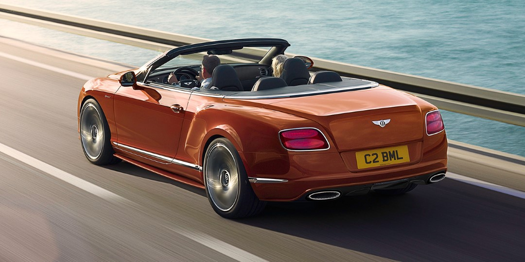 Bentley Continental GT Speed Convertible Videos