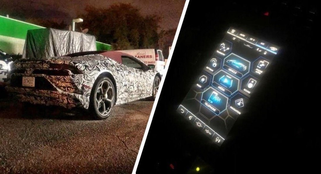 2020 Lamborghini Huracan Test Hack Seen