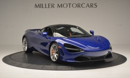 Monday Drool – Set the Night on Fire with this Aurora Blue McLaren