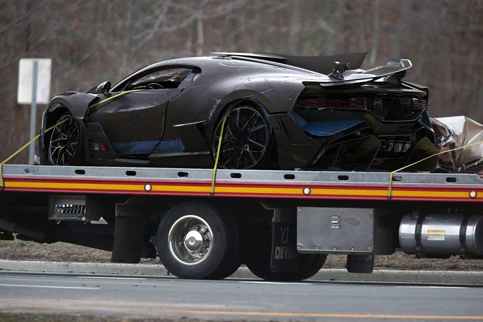 Bugatti Divo Crashed already?