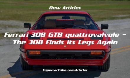 Ferrari 308 GTB quattrovalvole – The 308 Finds its Legs Again