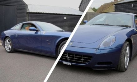 Eric Clapton's Ferrari 612 Scaglietti up for auction