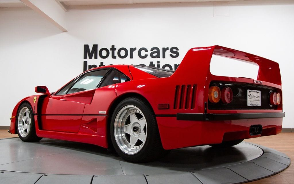 Friday Drool Check Out This Mint Condition 1992 Ferrari F40