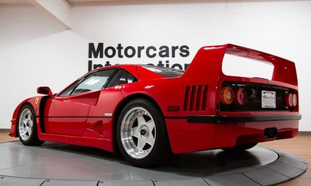 Friday Drool – Check out this Mint-Condition 1992 Ferrari F40