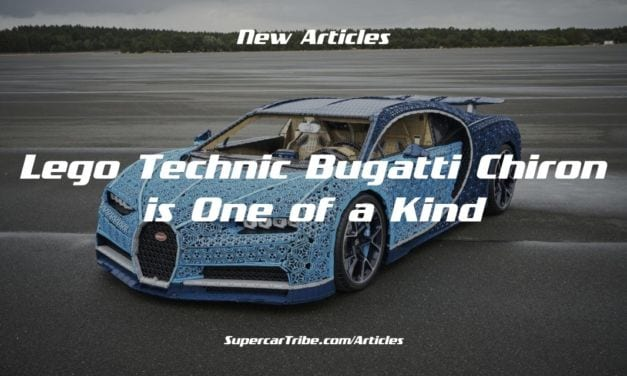 Lego Technic Bugatti Chiron is One of a Kind