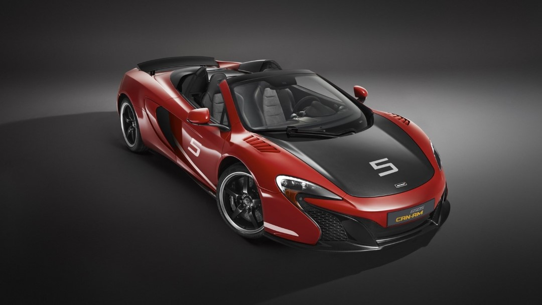 McLaren 650S Can Am Spider