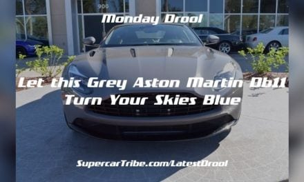 Monday Drool – Let this Grey Aston Martin DB11 Turn Your Skies Blue