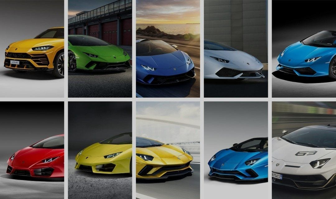 Your Guide to all Current Lamborghini Models in 2018
