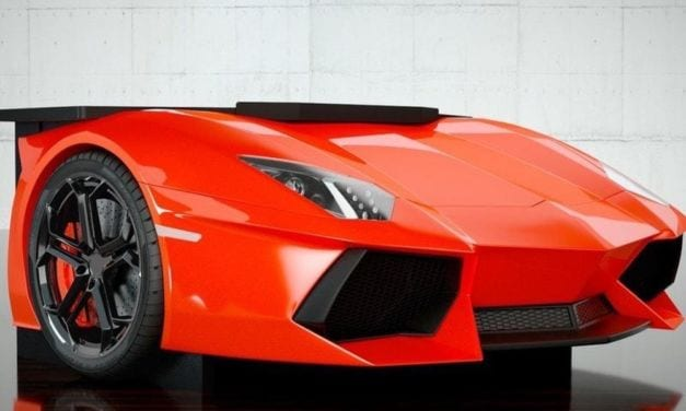 Is this Lamborghini Aventador Desk the coolest accessory?