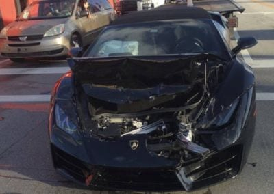 Lamborghini Crash Huracan Spider Miami SupercarTribe 0002