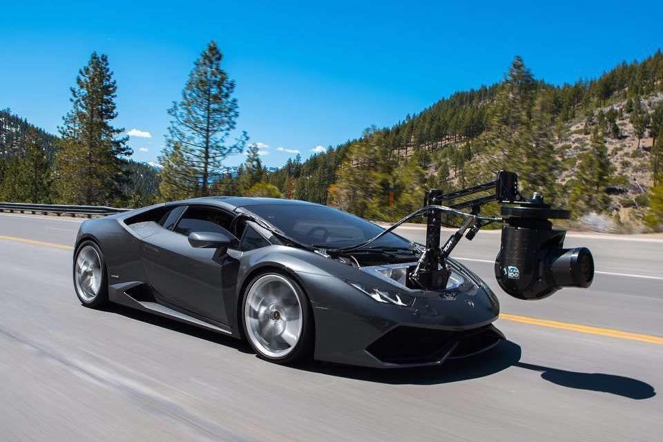 Fastest Camera Car in the World – Lamborghini 'Huracam'