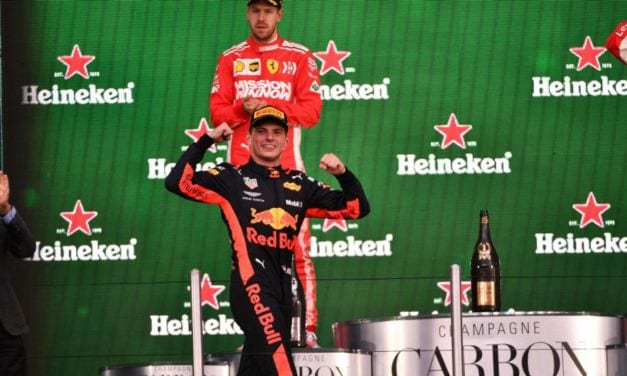 Verstappen Wins in Mexico, Hamilton is Champion