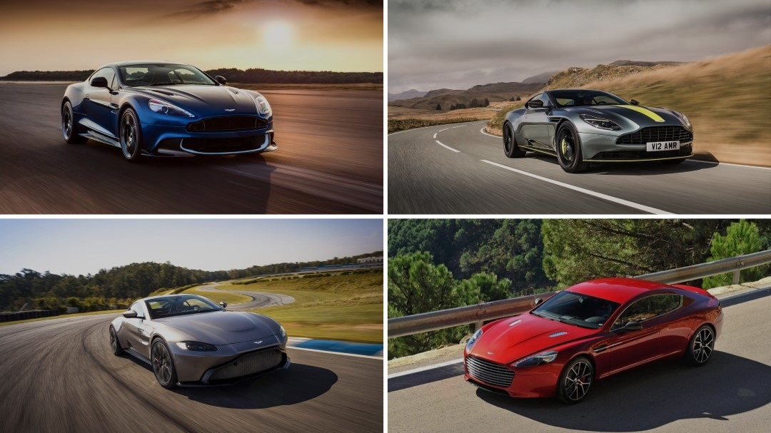 Your Guide to all Current Aston Martin Models in 2018