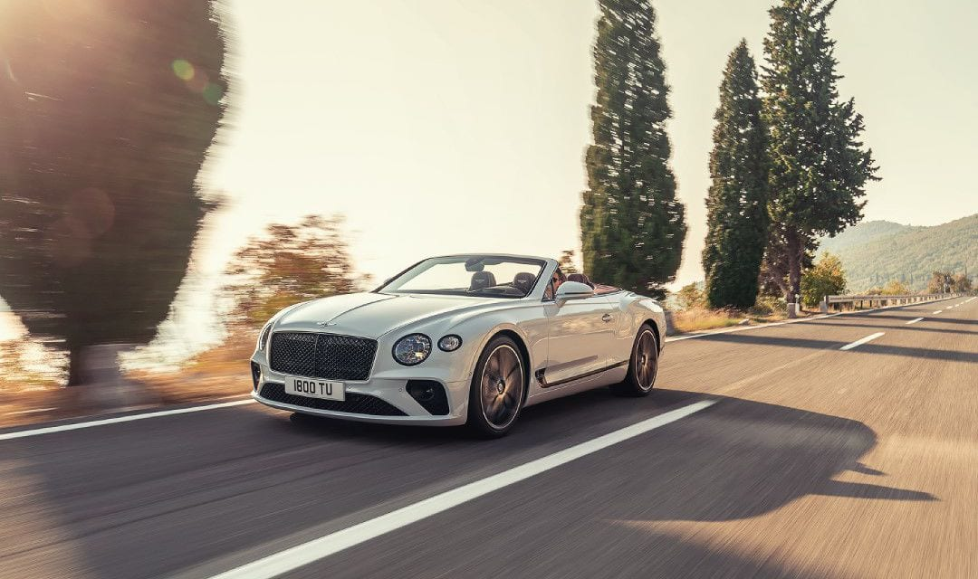 All New Bentley Continental GT Convertible – The Ultimate Open-Top Tourer