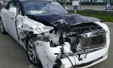 Handy with a Tool Kit? How about Buying a Crashed Rolls Royce?