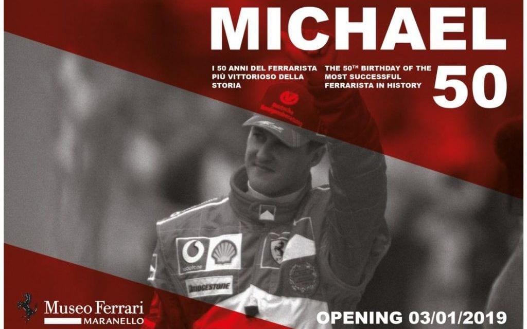 Ferrari Honour Michael Schumacher with 50th Birthday Exhibition