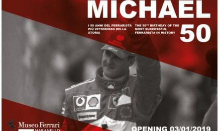 Ferrari Honour Michael Schumacher with 50th Birthday Exhibition