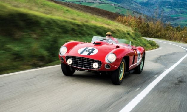 Very Rare Ferrari 290 MM with Star Driver History Sells for $22 Million