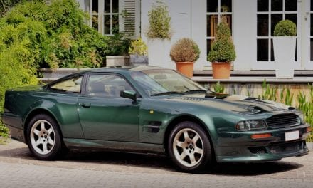 1993 – 2000 Aston Martin Vantage – Insane Power,