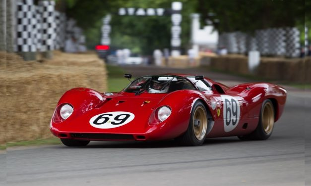 Ferrari 312 P – A Checkered Career for this Race Car
