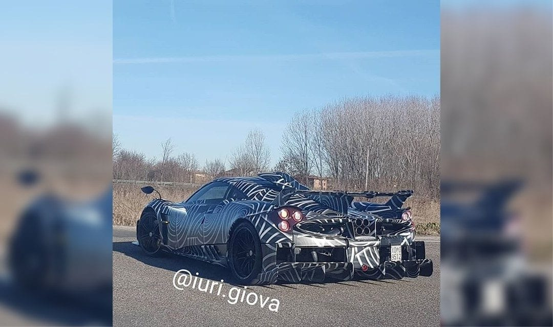 Mystery Pagani Huayra Spotted – Is This an 'R' Version?