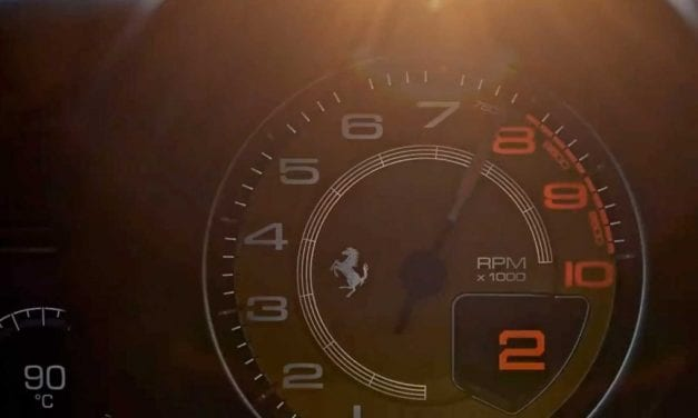 Ferrari 488 Replacement in Brief Teaser Video