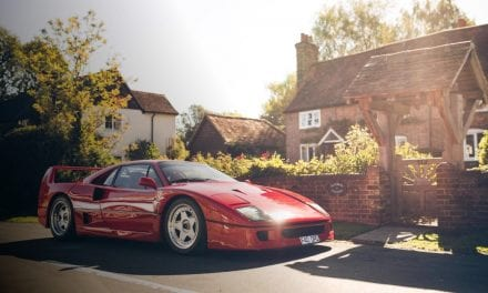 Friday Drool – Ferrari F40 – Does a Ferrari get any better than this?