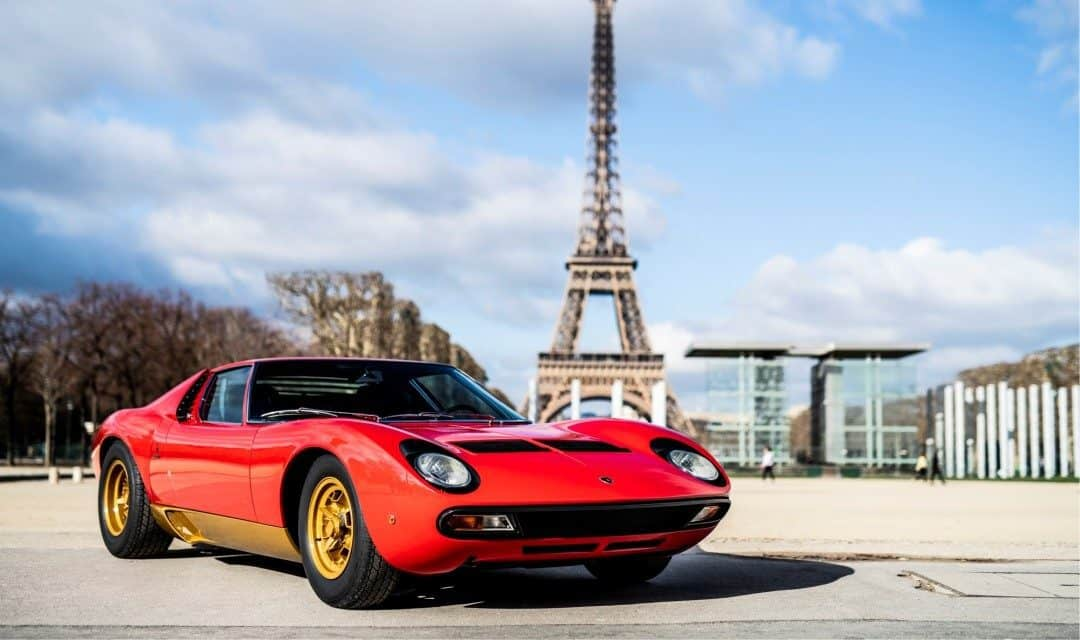 Magnificent Restored Lamborghini Miura SV Owned by Jean Todt