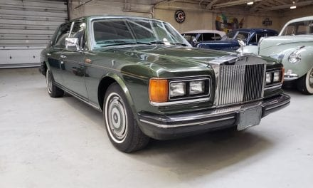 Armoured Rolls-Royce Used by Princess Diana Sells for $45,000