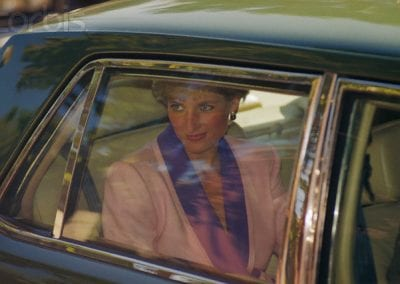 Princess Diana in Her Car