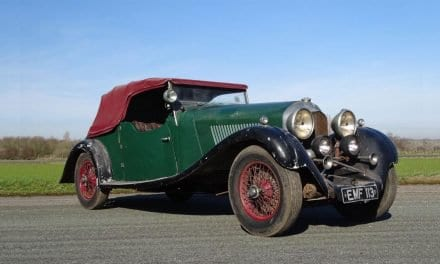 Rusty 1936 Bentley Barn Find Sells for £450,000
