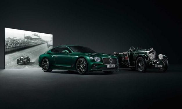 Bentley Continental GT Number 9 Edition by Mulliner – Inspired by a Legend