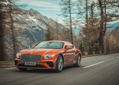 Bentley Continental GT Takes on Pikes 0002