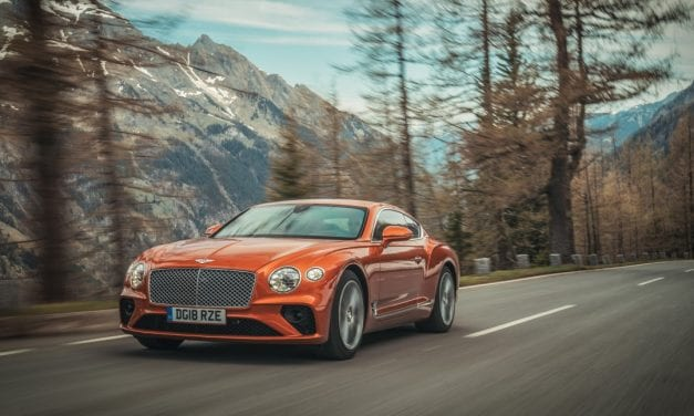 Bentley Continental GT Takes on Pikes Peak
